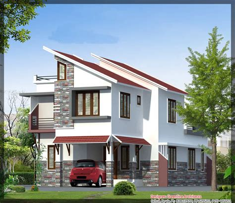 house elevations contemporary kerala house elevation at 1577 sq ft