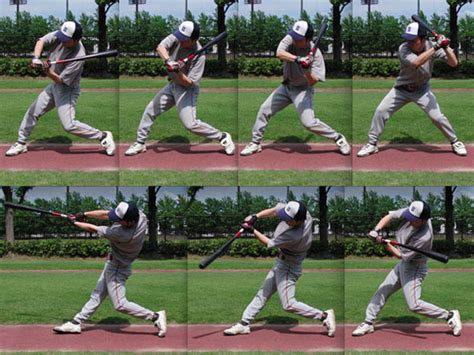 softball swing mechanics hitting revolution chapter2 basic mechanics of puncher type