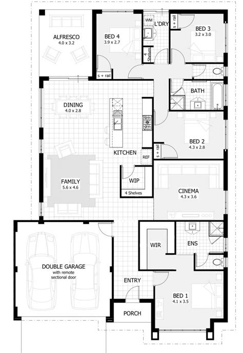 bedroom plans designs 5 bedroom house designs australia