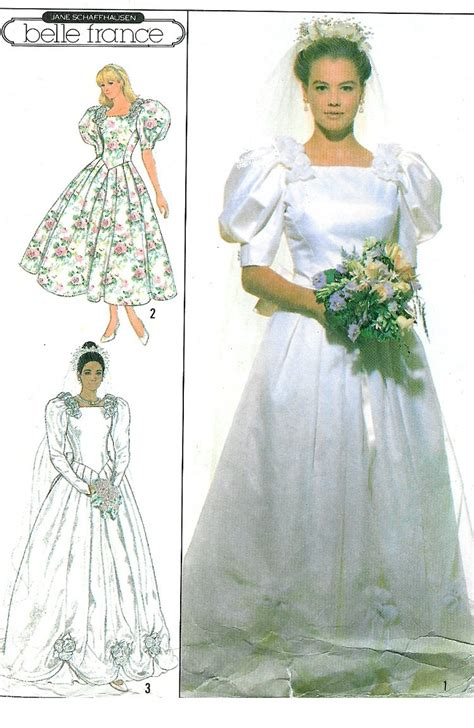 pattern drafting wedding gown vtg wedding gown sewing pattern princess dress fitted