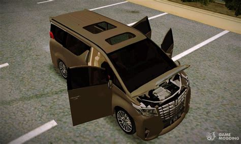 Toyota Alphard 2 5 G 2015 toyota alphard 2 5 g 2015 for gta san andreas