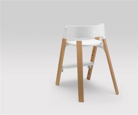 Kinderstuhl Design by Design Kinderst 252 Hle Holz Stokke Steps Permafrost