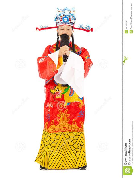 new year greeting gesture new year god of wealth make a greeting gesture