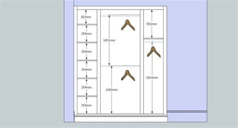 Wardrobe Design Dimensions by The World S Catalog Of Ideas