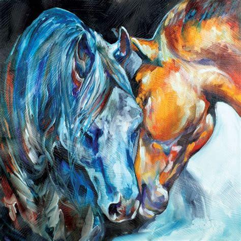 imagenes semifigurativas aliexpress com buy wall art 100 handpainted horse