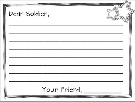 Sles Of Thank You Letters To Soldiers Soldiers Angels Show Your Appreciation To Deployed 10 Veterans Day Soldier Template