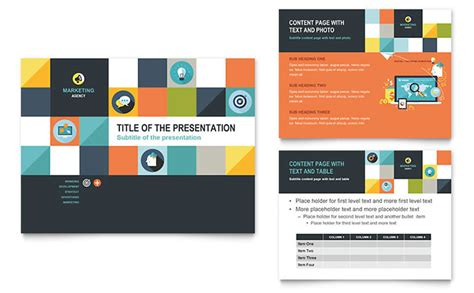 presentation template design advertising company powerpoint presentation template design