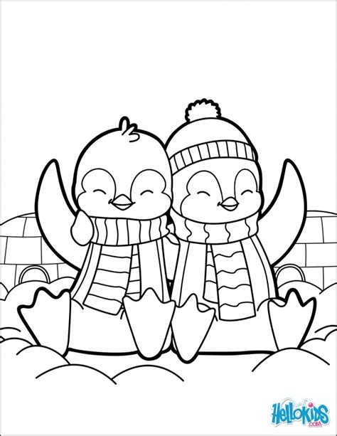 coloring pages of cute baby penguins cartoon penguin coloring pages 1573635 interesting baby