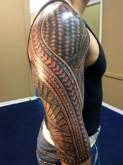 long pattern tattoo long sleeve tribal tattoo designs http www