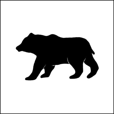 bear silhouette tattoo 193 best images on silhouette