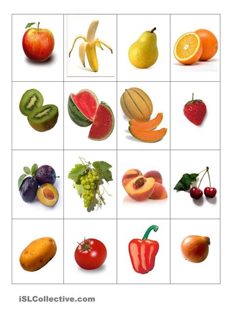 Sticker Obst Und Gemüse by Obst Und Gem 195 188 Se Memory Sachunterricht