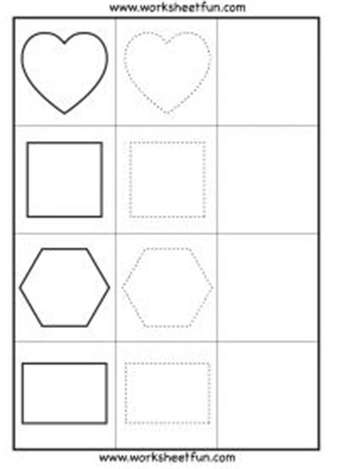copying patterns worksheet for kindergarten 1000 images about teaching shapes on pinterest