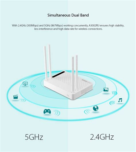Totolink Ac1200 Wireless Dual Band Gigabit Nas Router A2004ns totolink a3002ru ac1200 wireless dual band gigabit nas router shopat24