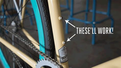 install rear bike rack without braze ons how to install a rear rack pure cycles