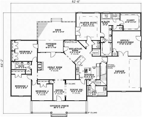 monsterhouseplans com country style house plans 2806 square foot home 1