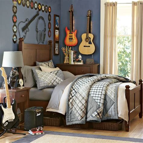 bedroom accessories bedroom musical bedroom for boy with guitar decor also reclaimed wood bed frame bedroom