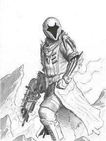 free coloring pages of destiny titan
