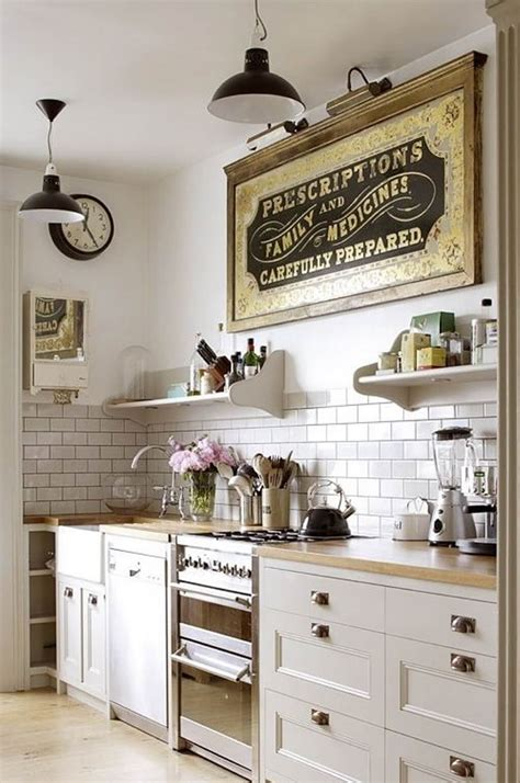 34 best vintage kitchen decor ideas and designs for 2018