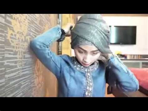 tutorial turban glitter tutorial membuat headpiece jilbab pengantin videolike