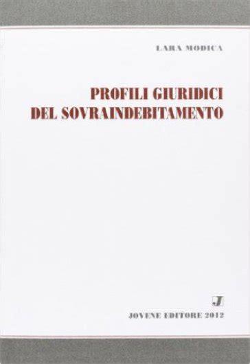 libreria mondadori modica profili giuridici sovraindebitamento lara modica