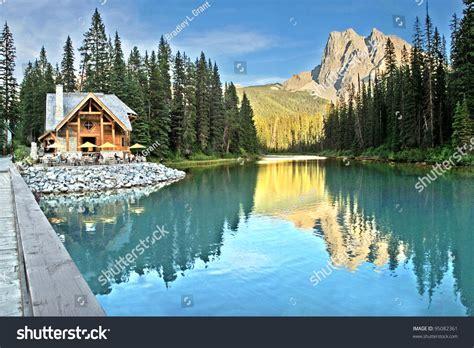 tea houses near me emerald lake tea house near field stock photo 95082361