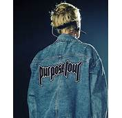 Jacket Justin Bieber Purpose Tour Denim