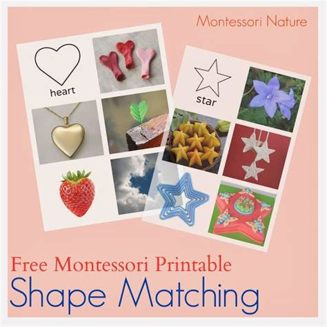 free printable montessori albums 200 best images about shapes and colors on pinterest web