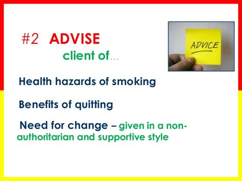 Brief Tobacco Cessation Counseling Cessation Counseling Template