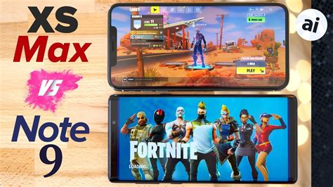 fortnite iphone xs max  note   phone  gaming youtube