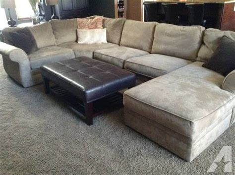 sectional sofas pottery barn pottery barn pearce sectional sofa couch for sale in