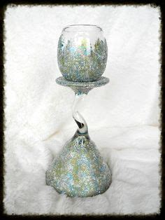 Sugar Creek Home Decor Pumpkin Glitter With Fall Ribbon Candle Holder 16 95 By