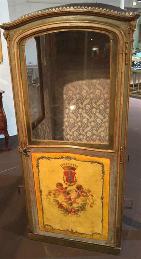 chaise a porteur achat vente divers chaise 224 porteur vers 1760 1770