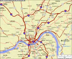 Cincinnati Ohio Map by Cincinnati Map Map Travel Holiday Vacations