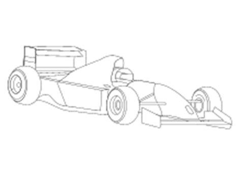 Formel 1 Auto Malen by Malvorlage F1 Rennauto Abb 24083