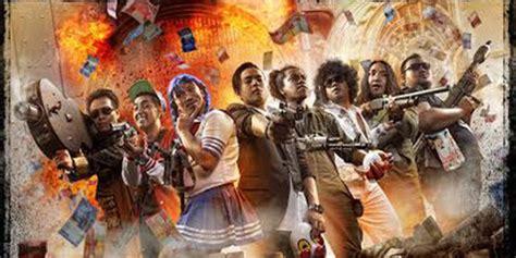 film layar lebar indonesia comic 8 siap siap tertawa comic 8 rilis poster perdana