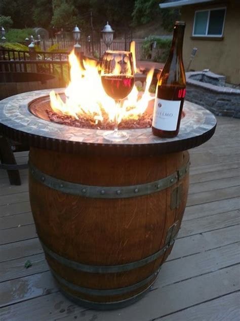 outdoor wine barrel furniture rewined designs home