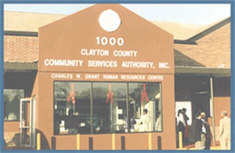 clayton county community services authority inc emergency assistance financial assistance