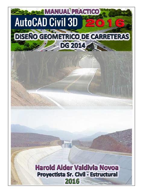 tutorial autocad civil 3d 2016 tutorial dise 241 o geometrico de carreteras con autocad civil
