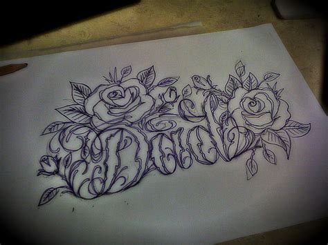 rose tattoo script designs labels claddagh font
