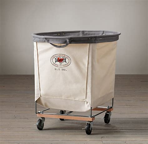 industrial stehle 5 favorites wheeled canvas laundry hers remodelista