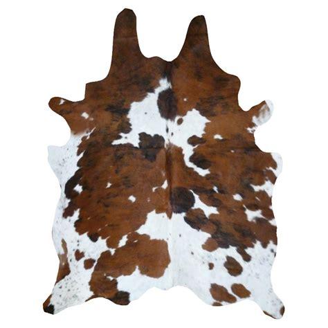 real cowhide rug real cowhide rug tricolor decohides 174 decohides