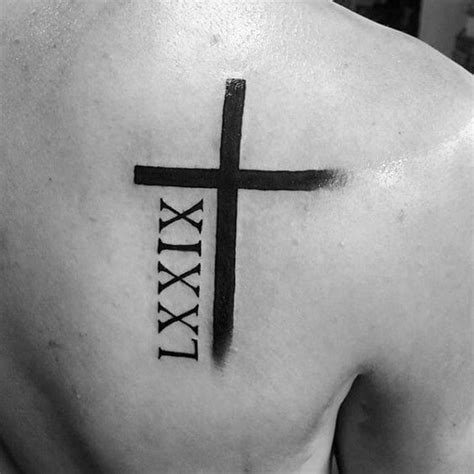 roman cross tattoo numeral tattoos for numeral tattoos