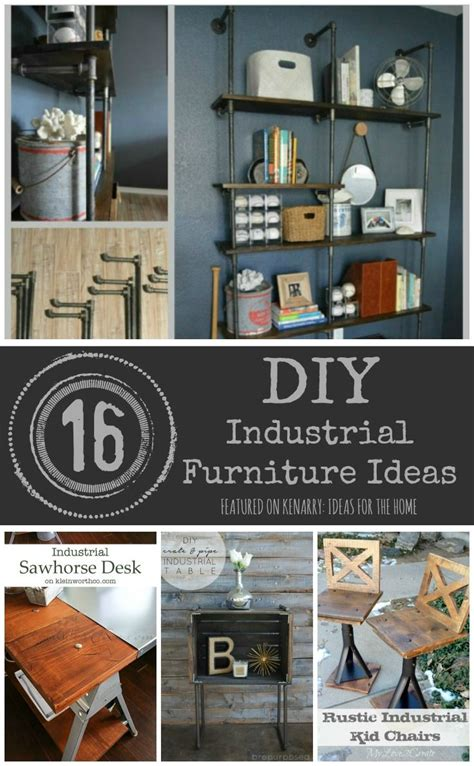 industrial furniture ideas 1000 ideas about table shelves on pinterest store