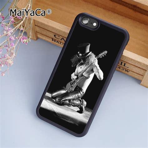 maiyaca stylish slash heavy metal band guns n roses phone cover for iphone 5s 6s 7 8 plus