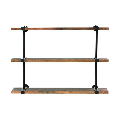 home depot wall shelving home decorators collection studio 40 in w wood craft wall shelf 2943600910 the home depot
