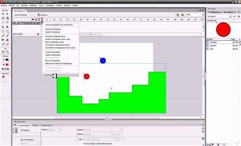 tutorial flash juego de plataformas crear juego de plataformas en flash 8 youtube