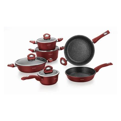 10pcs Ideal Cookware Tropicana Set im 1030mr set imperial collection