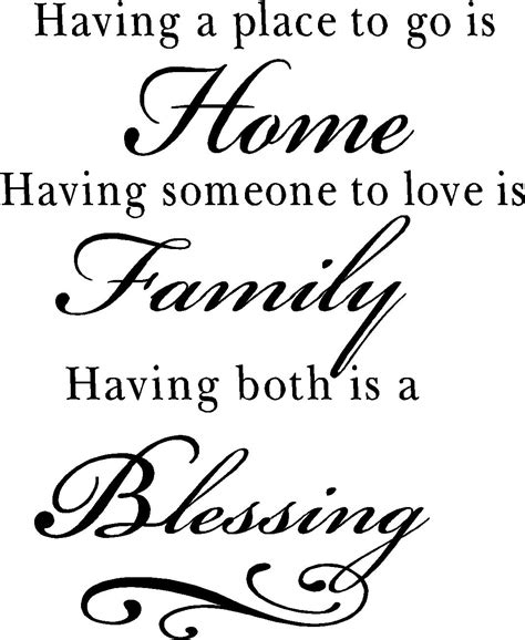 Irish Kitchen Designs by Family Quotes Vinyl Wall Decals Blessing Quotes For Home