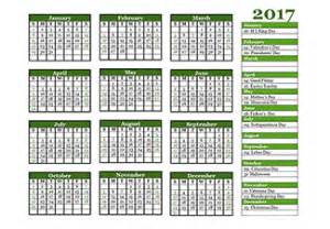 Brunei Calendrier 2018 2017 Yearly Calendar Templates Free Printable