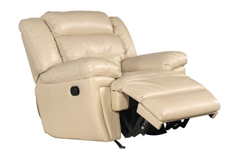 White Leather Rocker Recliner Calahan Leather Rocker Recliner